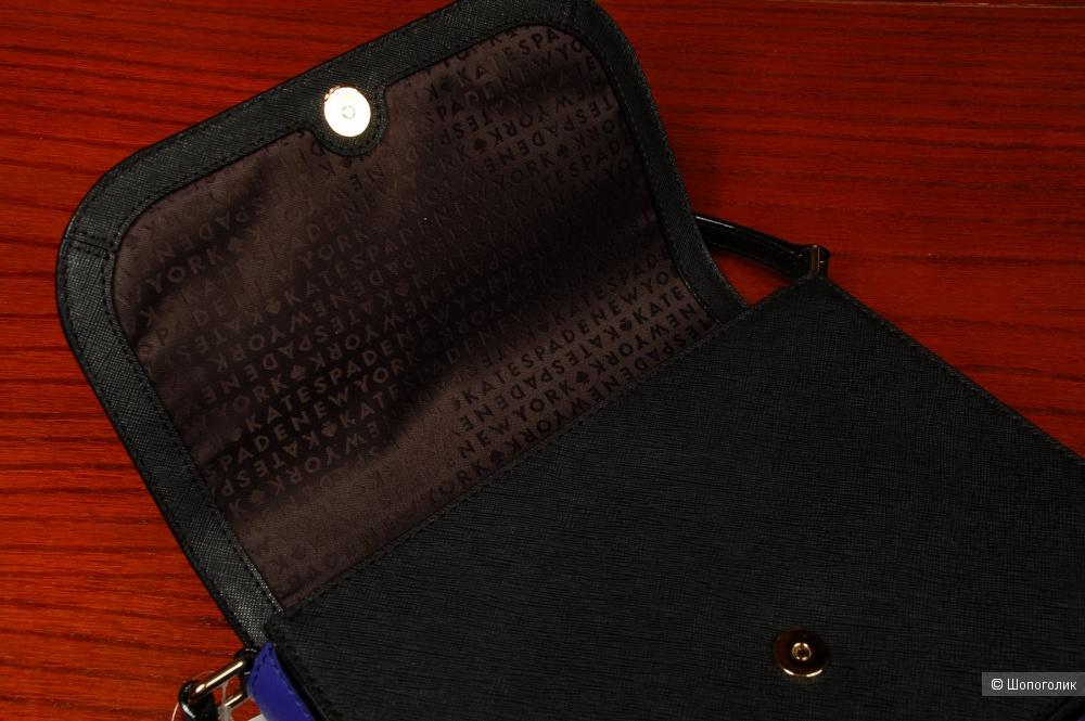 Кожаная сумка через плечо Kate Spade