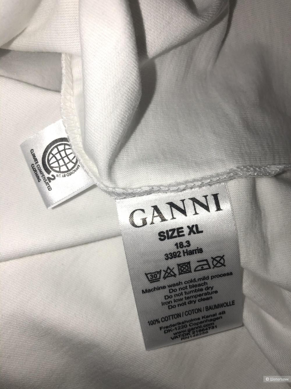 Футболка GANNI, размер XL (на российский 48-50)