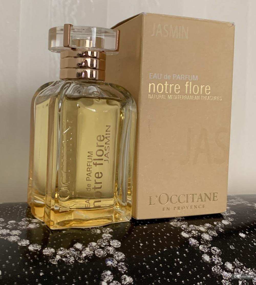 Notre Flore Jasmin L`Occitane en Provence edp 75 ml.