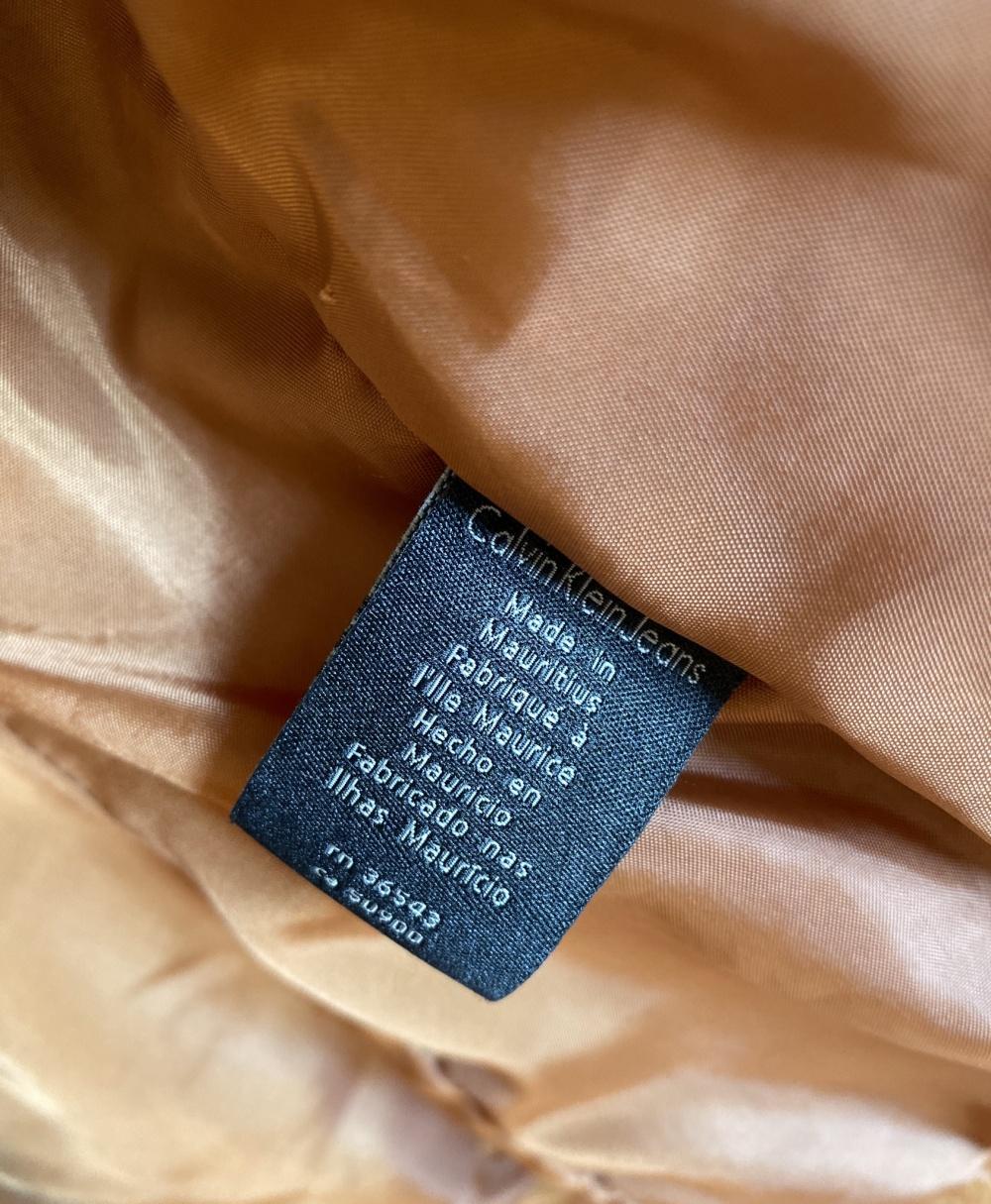 Куртка кожаная Calvin Klein размер 46-48