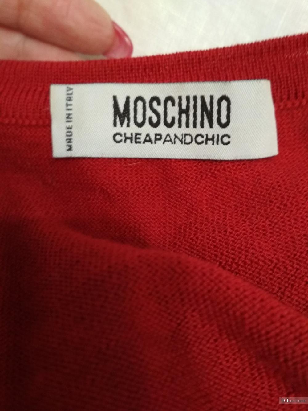 Джемпер Moschino, размер 44-46,