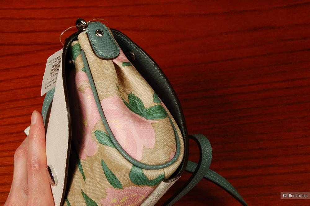 Двусторонняя сумка через плечо Coach
