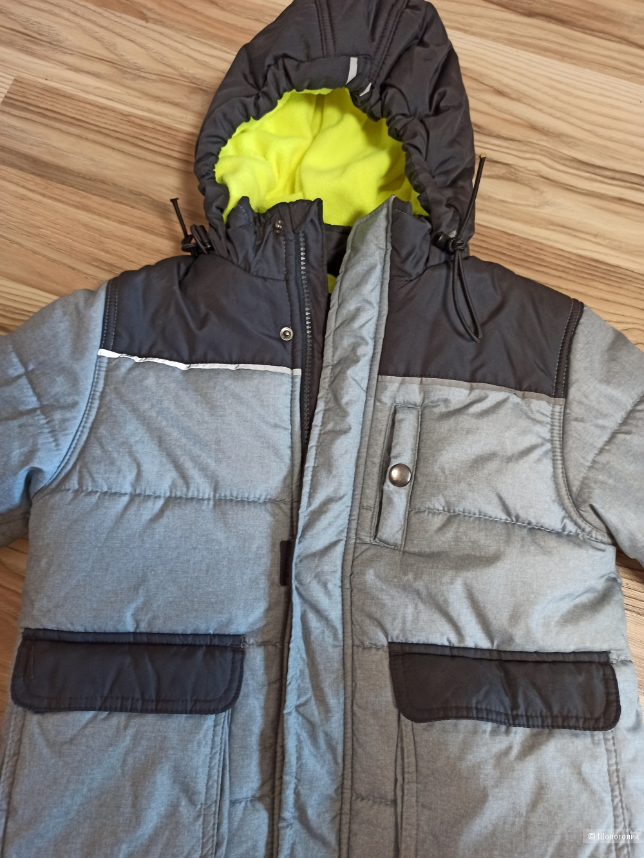 Детская зимняя куртка от Osh Kosh, размер 5-7 лет