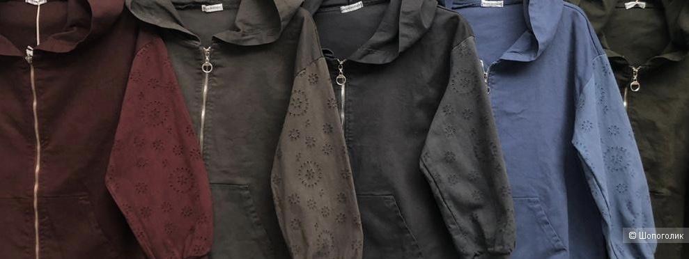 Куртка-бомбер с капюшоном GEANS Hoodie JACKET, 42-48