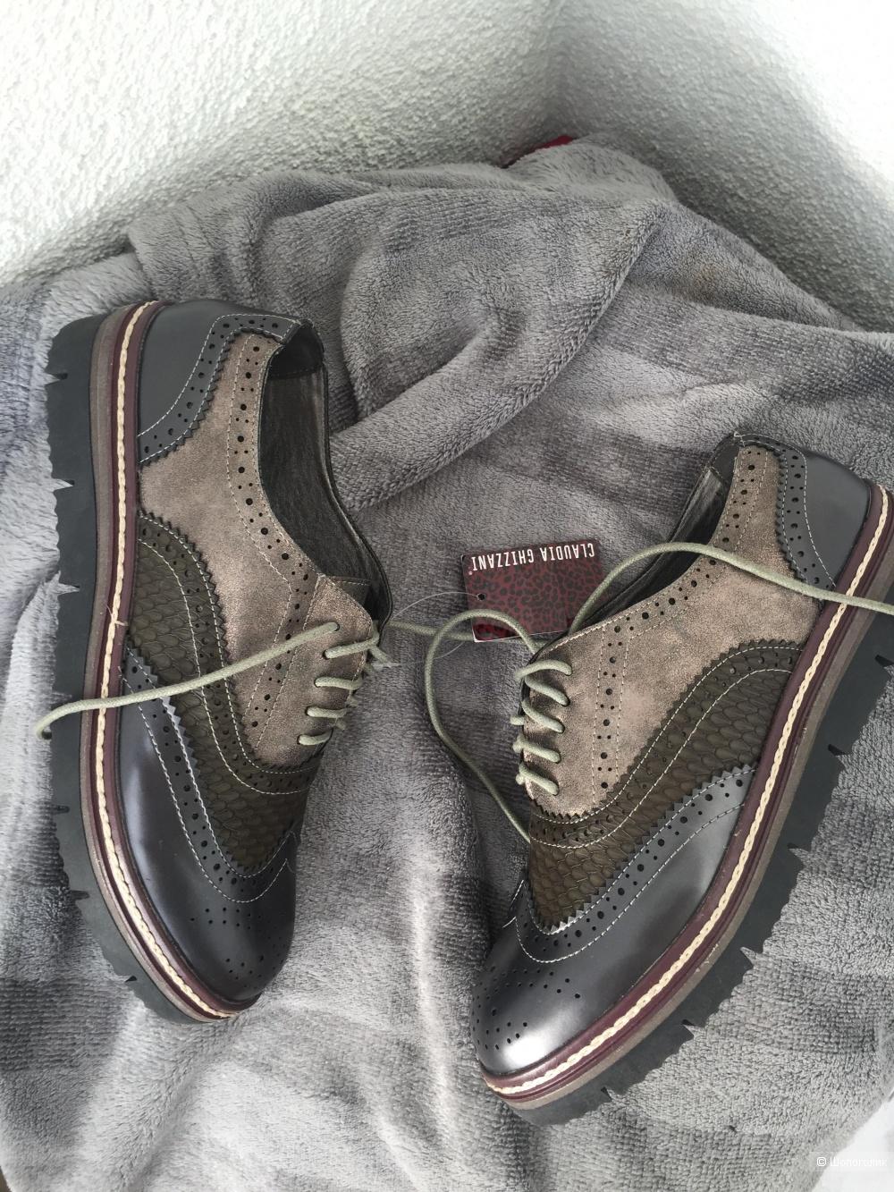 Ботинки claudia ghizzani, размер 40