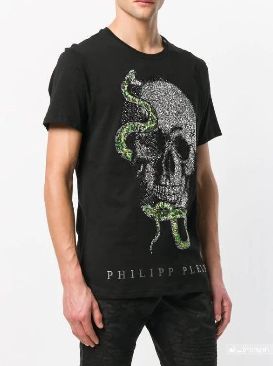 Футболка Philipp Plein. Размер M-L.