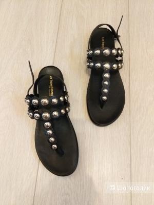 Босоножки сандалии les tropezienned 37,8 размер