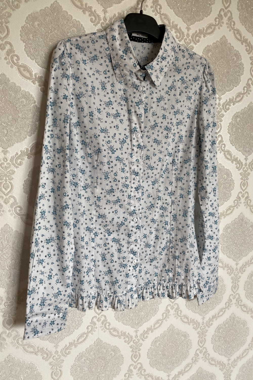 Блуза рубашка Miu Miu размер 42