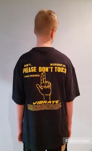 """Футболка Inflation  """"vibrate """" р.  L."""
