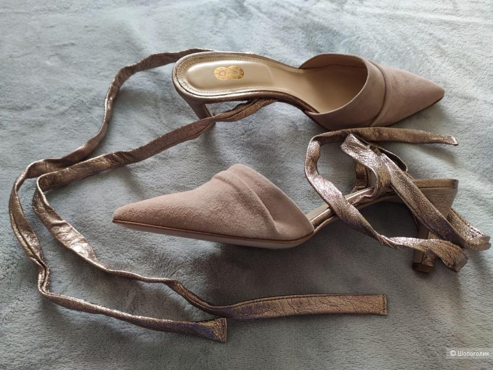 Замшевые туфли YOOX 39 размер
