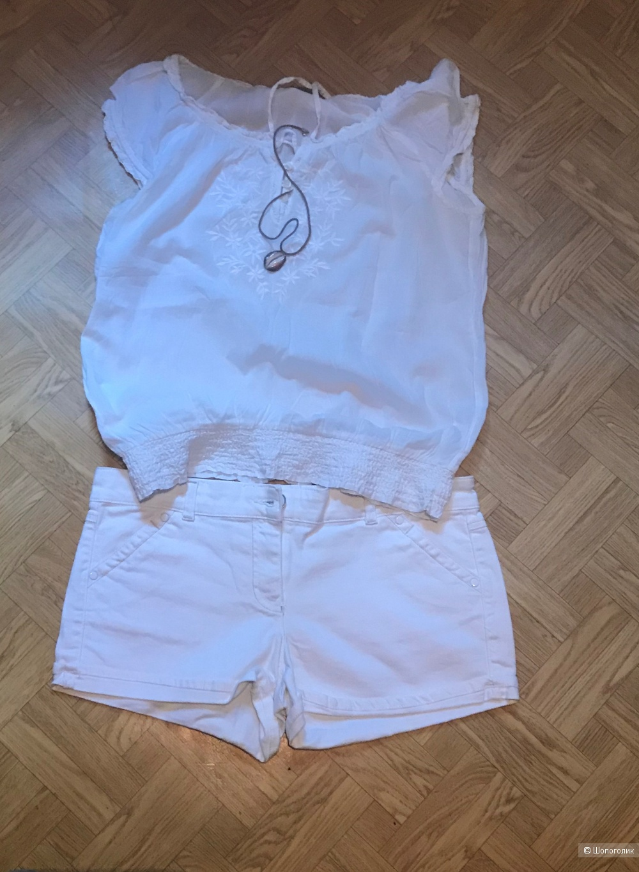 Сет шорты Atmosphere,блуза Ostin,майка S.Aix,46рус