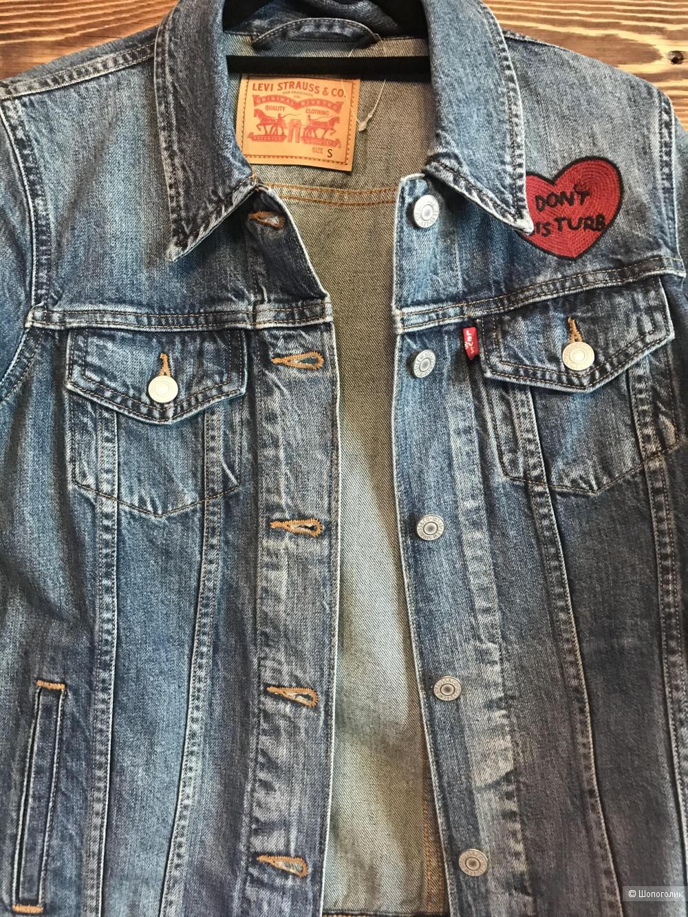 Джинсовая куртка Levi's S