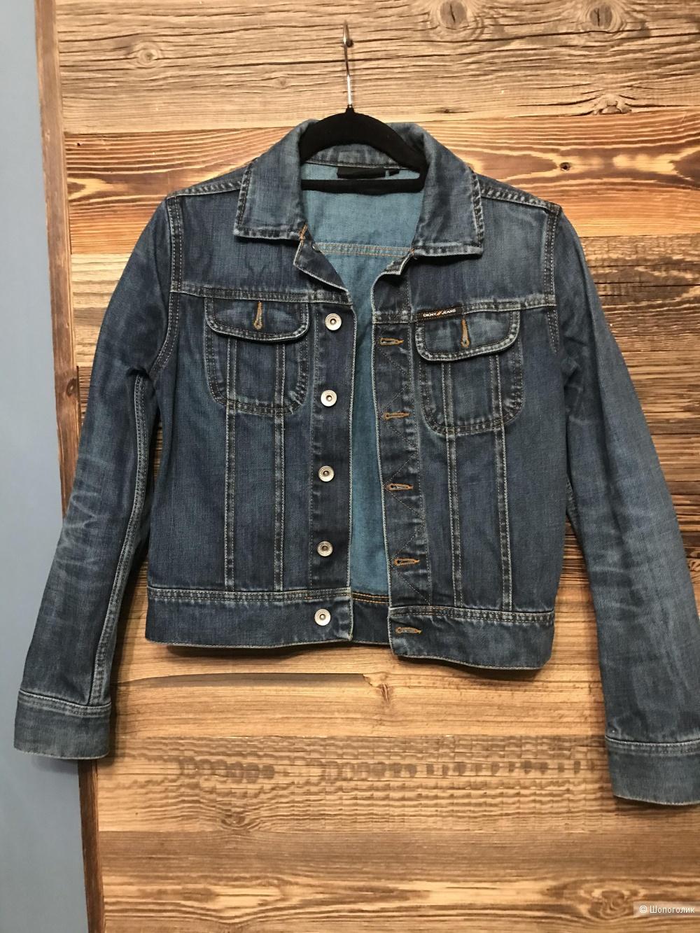 Джинсовая куртка DKNY xs