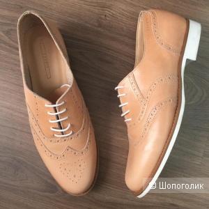 Кожаные ботинки Erprit, размер 40/41