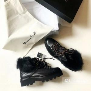 Ботинки massimo dutti, размер 37