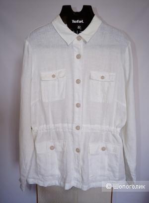 Lerros льняная рубашка р.52