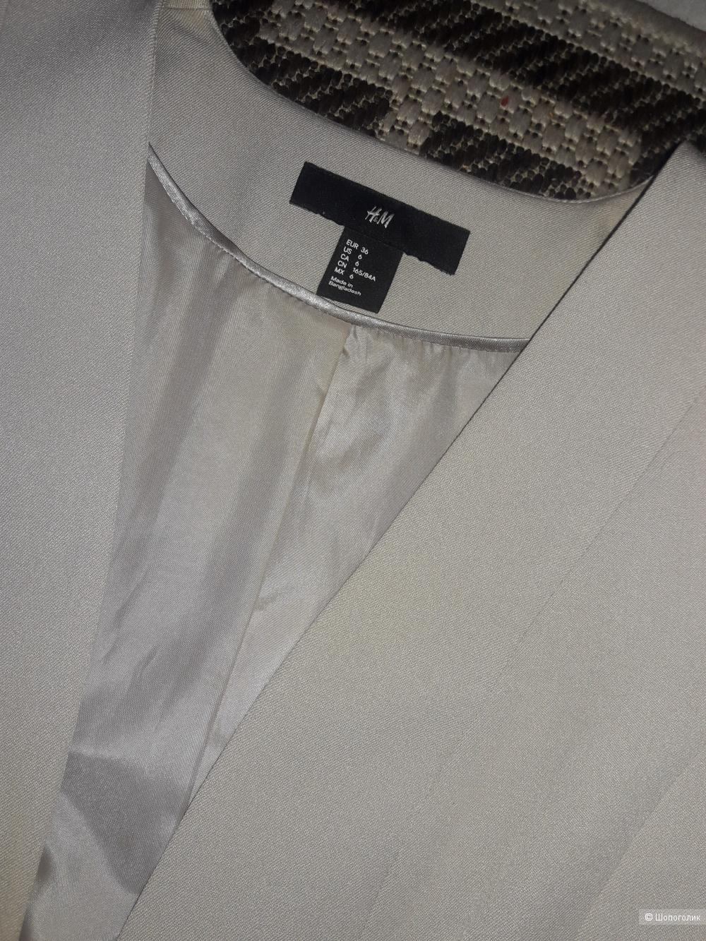 Пиджак H&M, р-р 36EU(s)