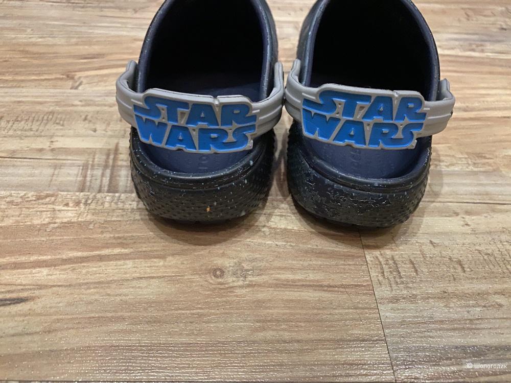 Сабо на мальчика Crocs Star Wars, размер 31-32