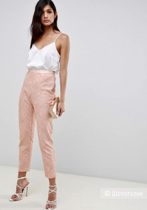 Кружевные брюки Asos, размер 42 / 44
