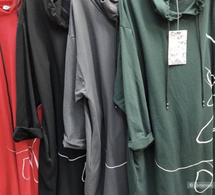 Платье худи STELLA MILANI  Italy, 44-52