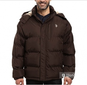 U.S. Polo Assn, мужская зимняя куртка р 50-52