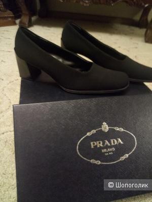 Туфли PRADA, маркировка 37