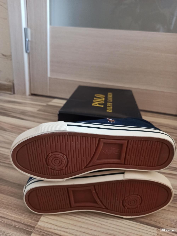 Кеды замшевые от Ralph Lauren, размер 36