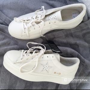 Кожаные кеды Converse, размер 40/41 26,5 см