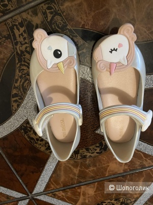 Туфли Mini Melissa единороги,  размер 25/26