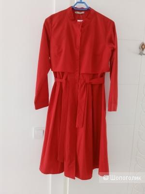 Платье-рубашка CLB маркировка L, маломерит