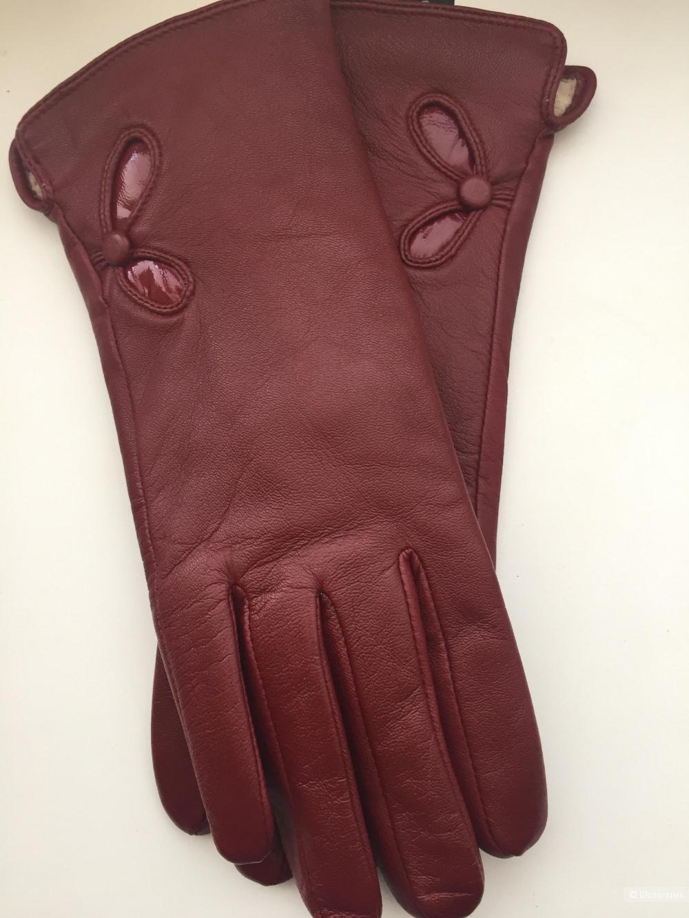 Женские перчатки, размер 8