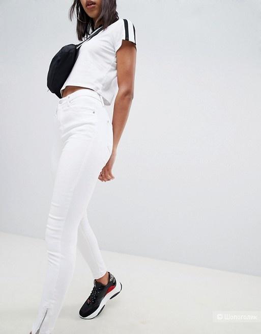 Укороченные джинсы скинни PrettyLittleThing uk14 на 48-50