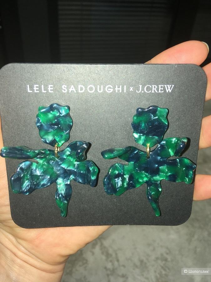 Серьги Lele Sadoughi x J Crew