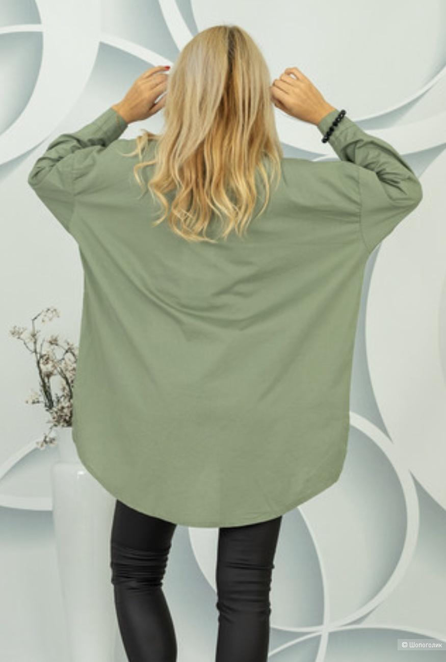 Рубашка блуза DONT CARE ITALY, oversize