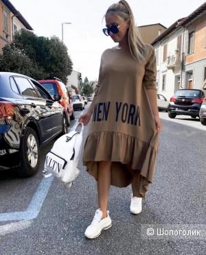 Платье хлопок New York, oversize