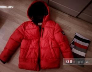 Куртка зимняя Zara  рост 140