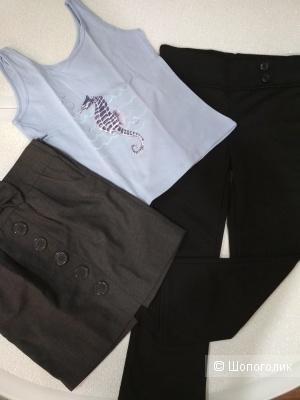 Сет юбка George +штаны F&F+майка YD размер 4-5 лет