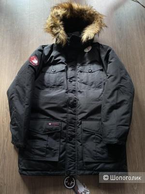 Чёрная мужская парка, Canada Weather Gear, размер XL