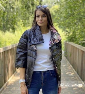 Куртка двусторонняя Black Fiori Italy, 40-48
