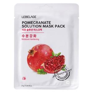 Lebelage Маска тканевая pomegranate solution mask Антивозрастная