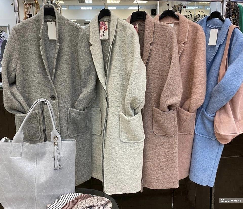 Пальто кардиган шерстяное italia Cappotto di lana, 44-48
