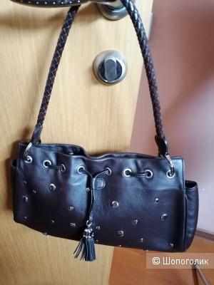 Кожаная сумка Renouard