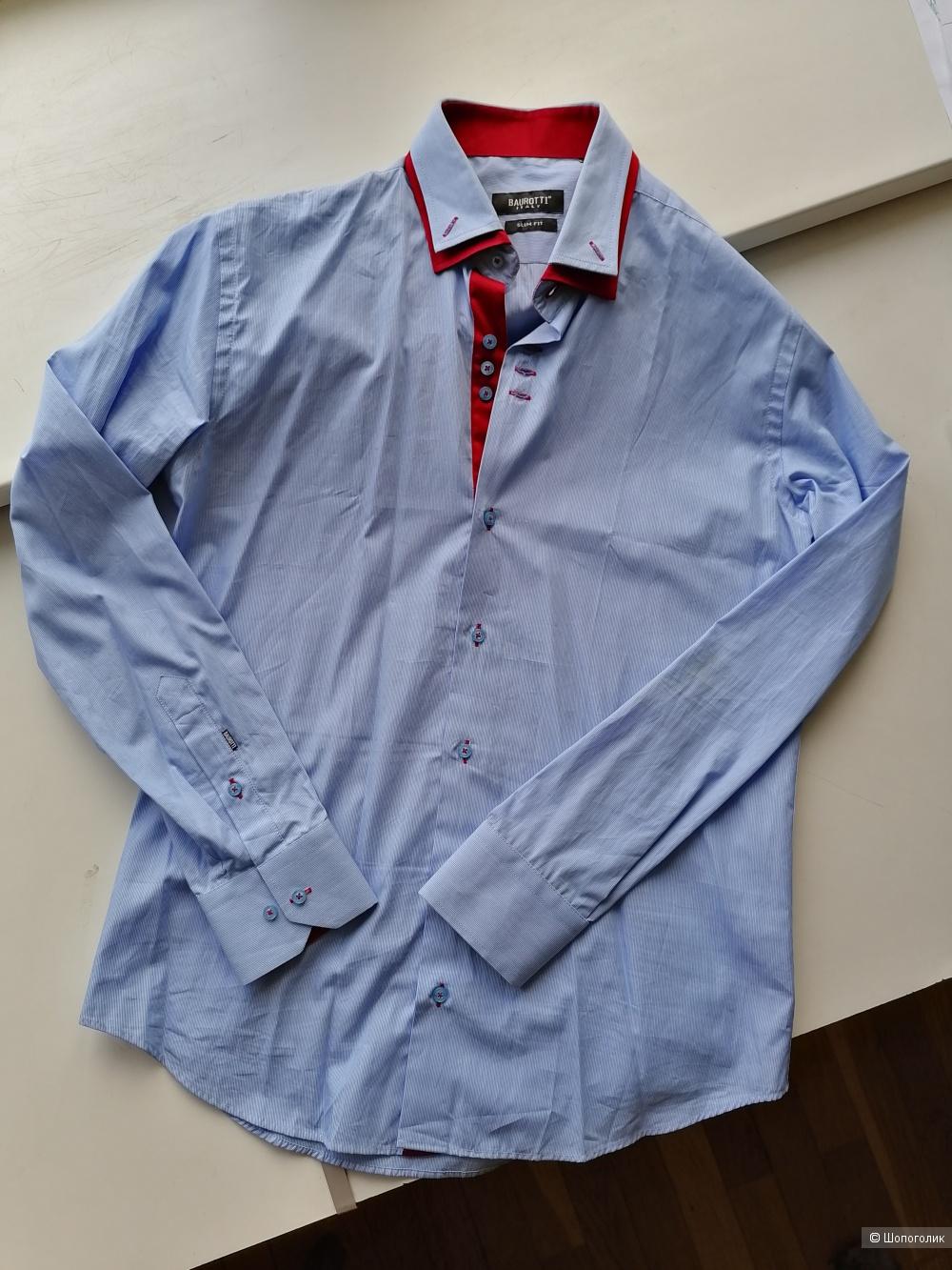 Рубашка Baurotti Italy slim fit, размер М