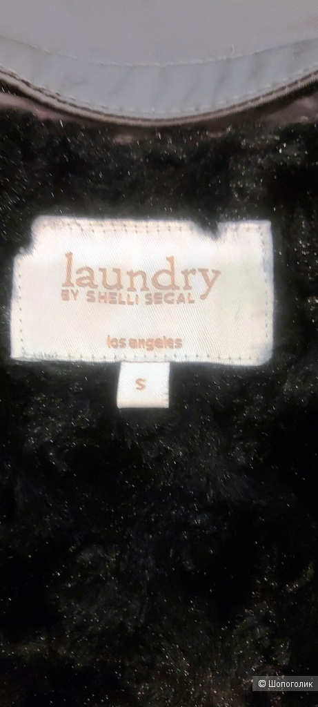 Утепленный тренч - анорак LAUNDRY BY SHELLI SEGAL - S- на 44 р-р