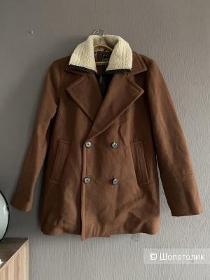 Мужское шерстяное пальто Selected, размер М