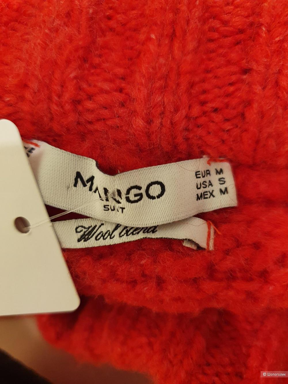 Джемпер с шерстью  MANGO, размер М