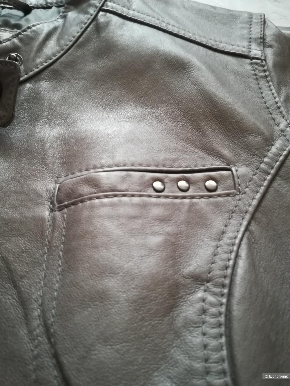 Куртка кожаная Marie Philippe,38 евр