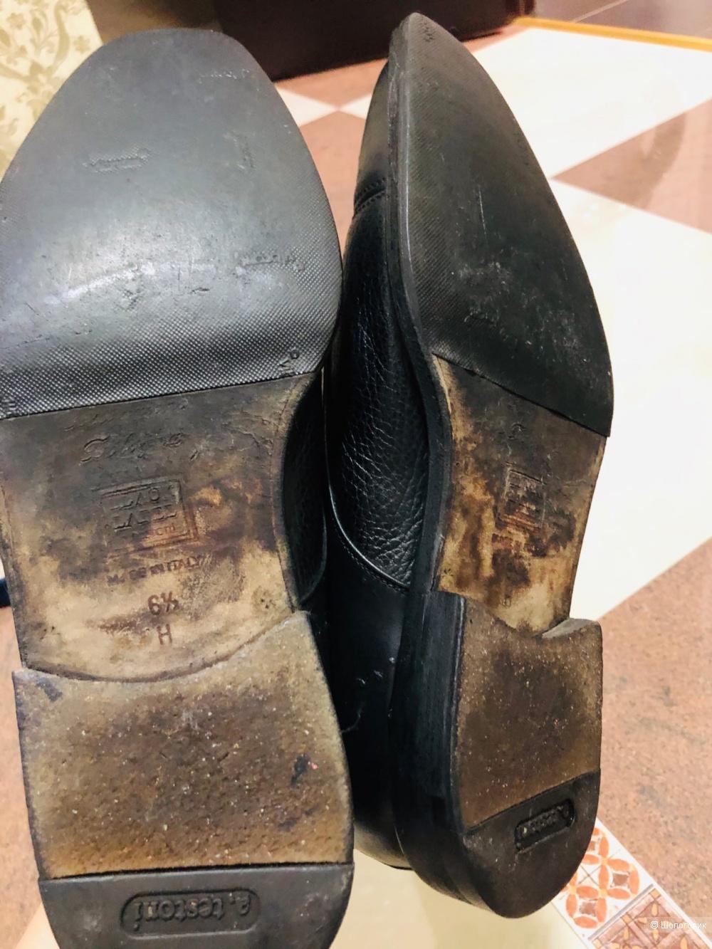 Туфли-броги A.TESTONI.Размер 40-41.