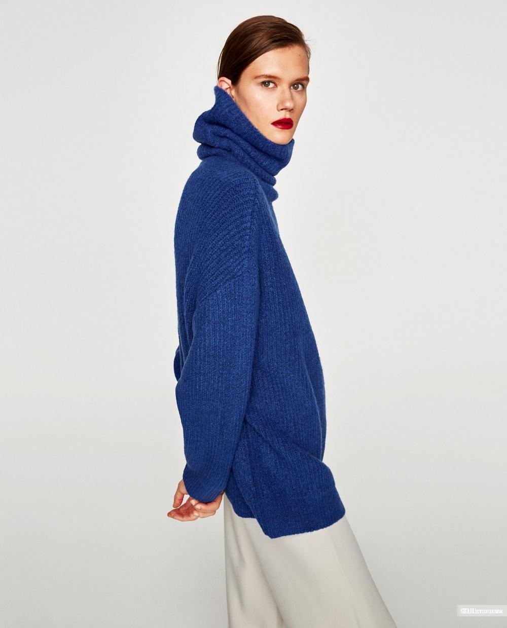 Свитер Zara размер S oversize