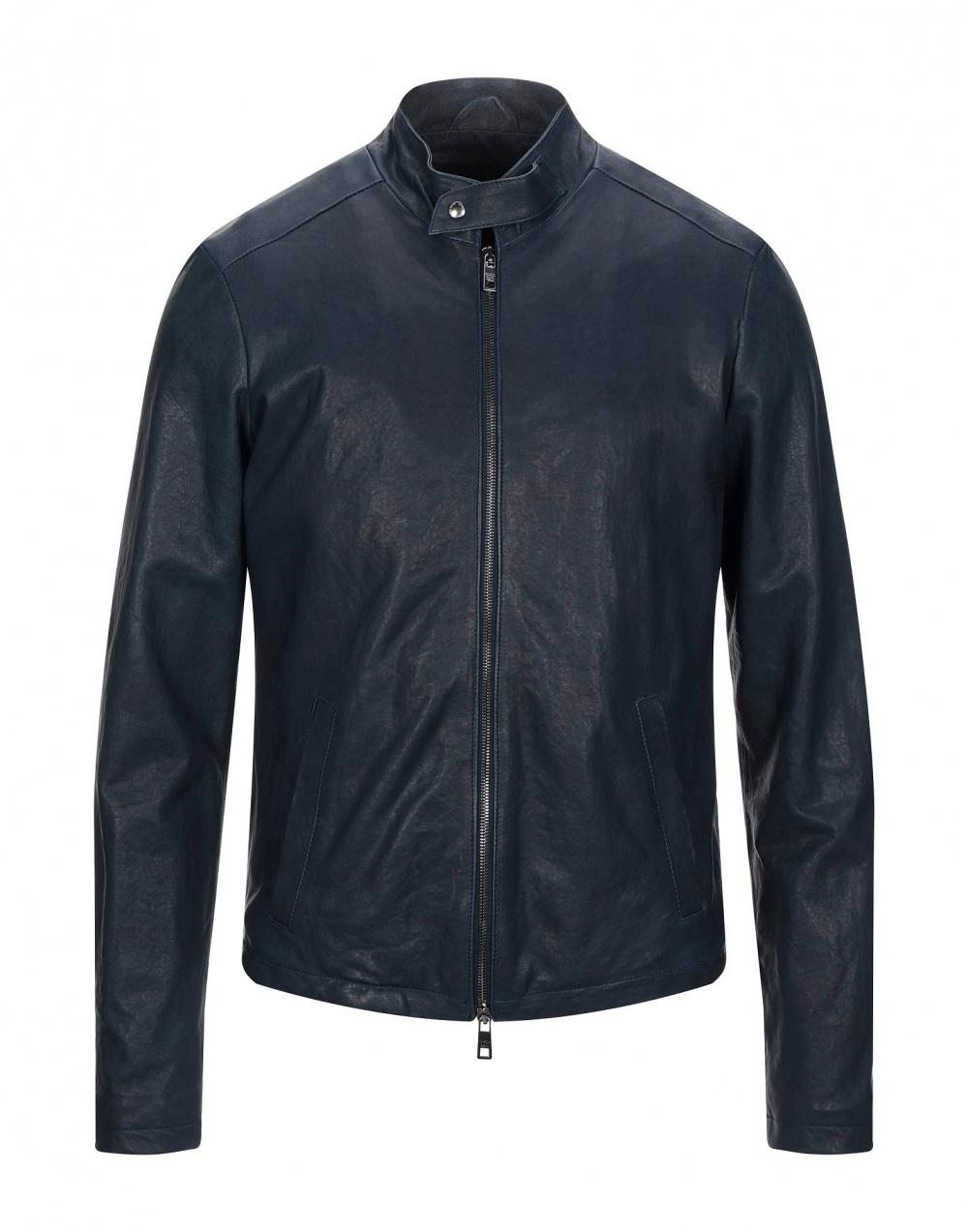 Кожаная куртка GIORGIO BRATO, размер 50-52